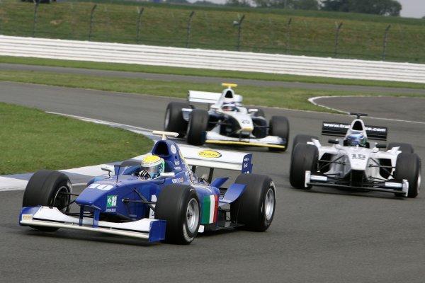 2006 F3000 ChampionshipSilverstone, England.13th August 2006S GattusoWorld Copyright - Ebrey/LAT Photographic