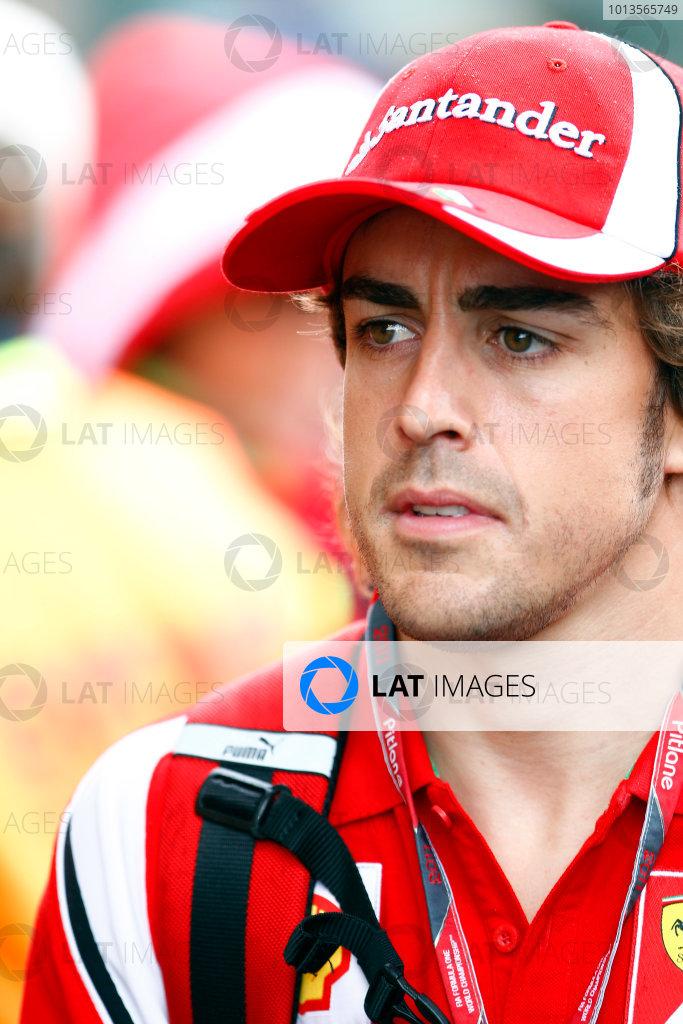 Albert Park, Melbourne, Australia24th March 2011.Fernando Alonso, Ferrari 150Â¡ Italia.World Copyright: Glenn Dunbar/LAT Photographicref: Digital Image _G7C1135
