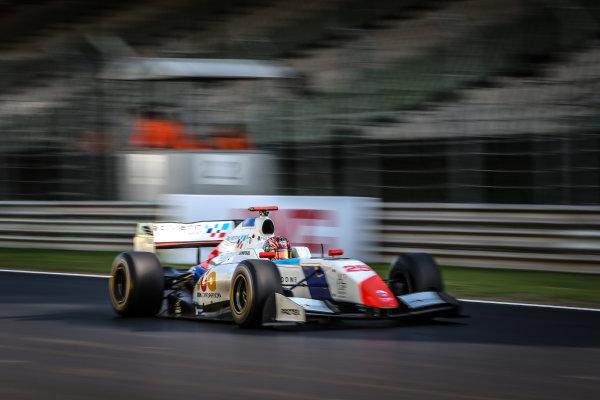 BUDAPEST (HUN) APR 22-24 2016 - Second round of the Formula V8 3.5 at the Hungaroring. Yu Kanamaru #25 Teo Martin Motorsport. Action. © 2016 Diederik van der Laan  / Dutch Photo Agency / LAT Photographic