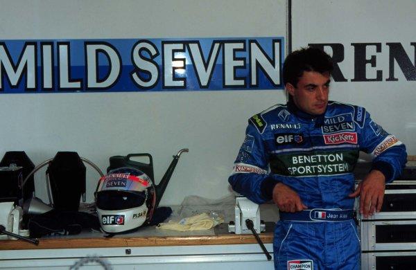Monaco Grand Prix.Monte Carlo, Monaco.16-19 May 1996Jean Alesi (Benetton Renault).World Copyright - LAT Photographic