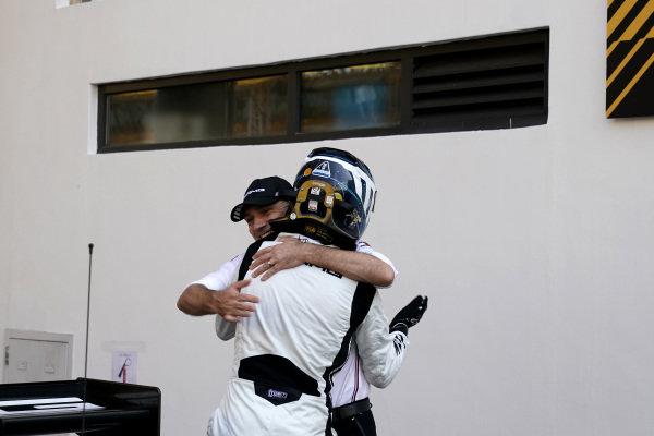 #999 Mercedes-AMG Team GruppeM Racing Mercedes AMG GT3: Raffaele Marciello with Stefan Wendl, AMG.