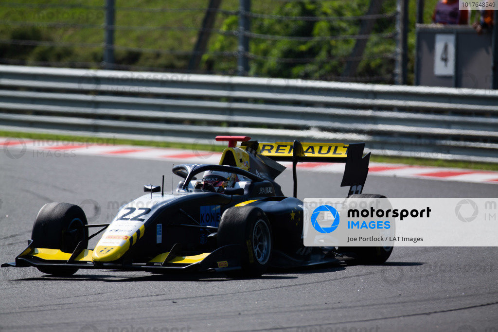 HUNGARORING, HUNGARY - AUGUST 04: Ye Yifei (CHI, Hitech Grand Prix) during the Hungaroring at Hungaroring on August 04, 2019 in Hungaroring, Hungary. (Photo by Joe Portlock / LAT Images / FIA F3 Championship)