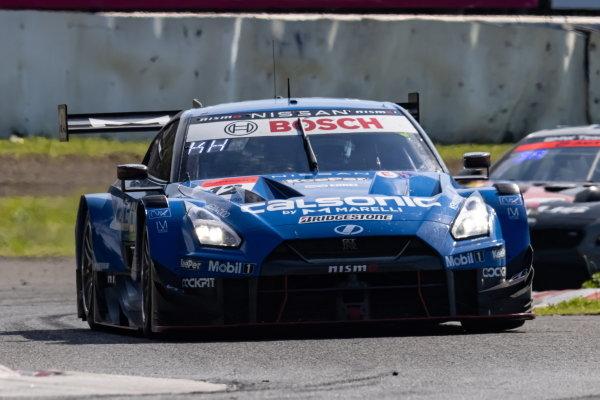 GT500 Winners Kazuki Hiramine & Nobuharu Matsushita, Team Impul, Nissan GT-R Nismo GT500
