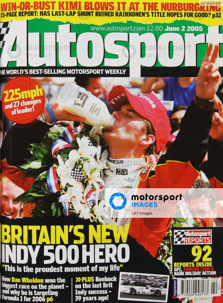 Autosport Covers 2005