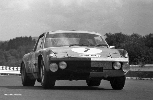 Gérard Larousse / Helmut Marko / Claude Haldi, Porsche 914-6.