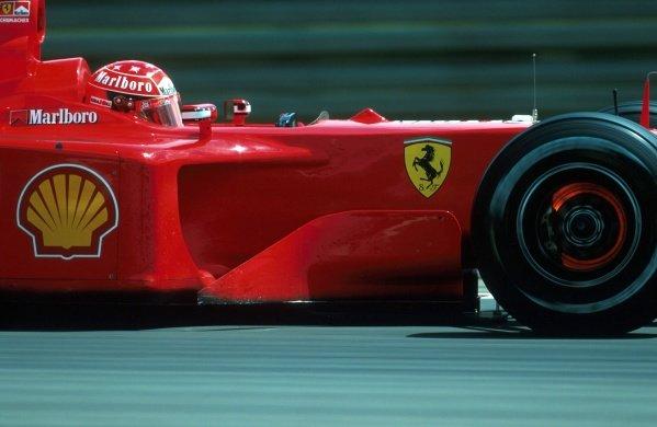Michael Schumacher (GER) Ferrari F1 2001 - Winner European Grand Prix, Nurburgring, 24 June 2001 BEST IMAGE