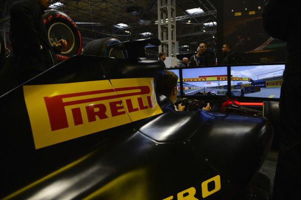 A Pirelli simulator.