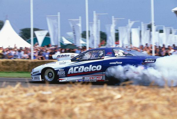 2002 Goodwood Festival of SpeedGoodwood, England. 12th - 14th July 2002.Michael Malmangren, Pro-Stock Chevrolet Camaro.World Copyright: Jeff Bloxham/LAT Photographicref: 35mm Image A04