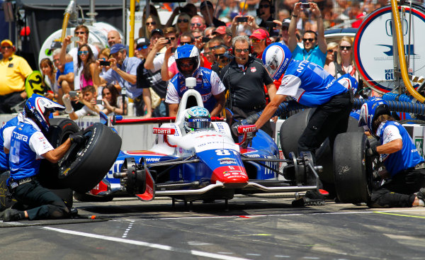23  May, 2014, Indianapolis, Indiana, USA Ryan Briscoe ?2014, Ernie Masche LAT Photo USA