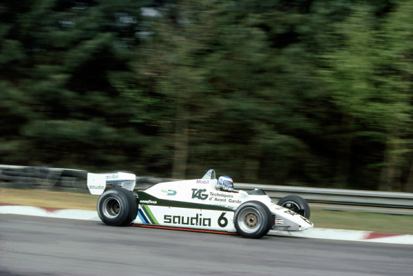 1982 Belgian Grand PrixZolder, Belgium7-9th May 1982. RD5Ref: 82 BEL 56World Copyright: LAT Photographic