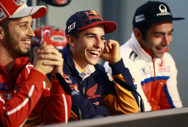 2017 MotoGP Championship - Round 9 Sachsenring, Germany Thursday 29 June 2017 Marc Marquez, Repsol Honda Team World Copyright: David Goldman/LAT Images ref: Digital Image 680854