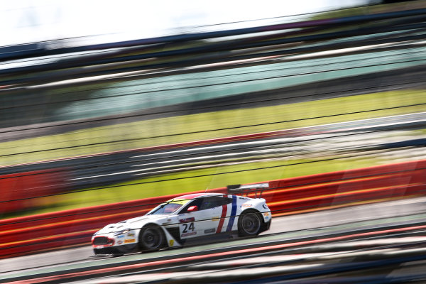 2017 British GT Championship, Silverstone, 11th-12th June 2017, Jack Mitchell / James Littlejohn Macmillan AMR Aston Martin Vantage GT3. World copyright. JEP/LAT Images