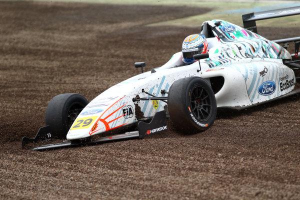 2017 British F4 Championship, Knockhill, 12th-13th August 2017, Luca Allen (IRL) Falcon Motorsport British F4 World copyright. JEP/LAT Images