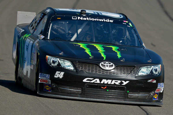 March 22-23, 2013 Fontana, California USA Kyle Busch, Monster Energy Toyota Camry car © 2013, Brian Czobat LAT Photo USA .