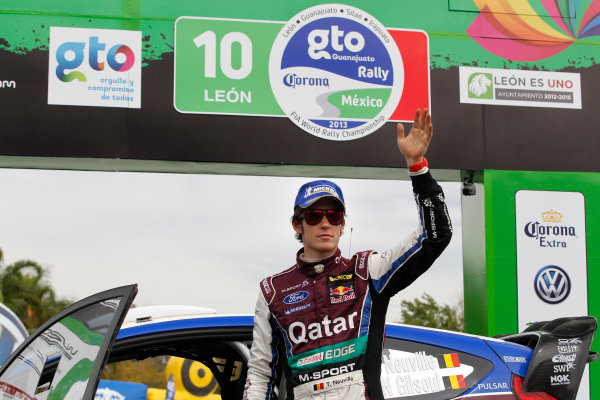 2013 World Rally Championship Rally Mexico 7th - 10th March 2013 Thierry Neuville, Ford, podium Worldwide Copyright: McKlein/LAT