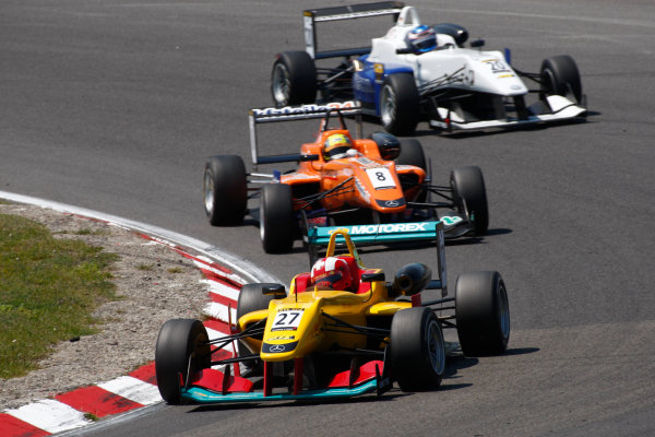 2013 Masters of Formula Three, Zanvoort, 7th July 2013. Sandro Zeller (SUI) Jo Zeller Racing Dallara F312 Mercedes World Copyright: Essay/Ebrey/LAT Photographic