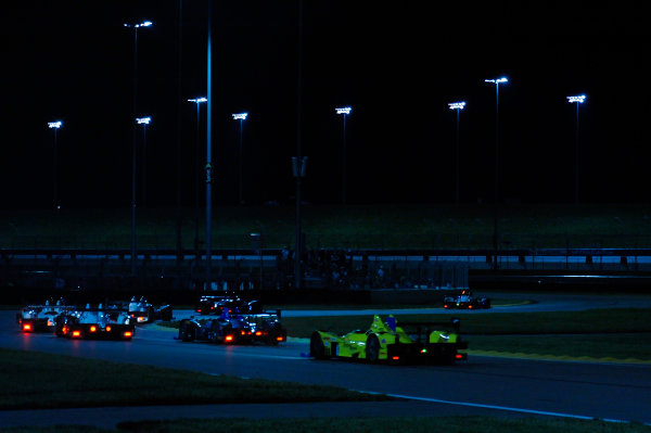 6-7 June, 2014, Kansas City, Kansas USA PC's race through turns 2 and 3 ?2014, F. Peirce Williams LAT Photo USA
