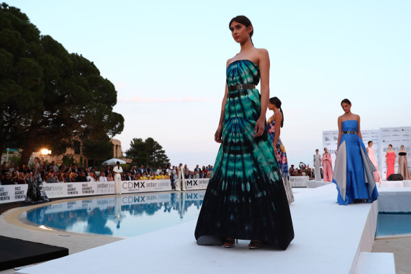 Monte Carlo, Monaco. Friday 26 May 2017. Models at the Amber Lounge Fashion Show, Le Meridien Beach Plaza Hotel, Monaco World Copyright: Mark Sutton/Sutton/LAT Images ref: Digital Image dcd1726my213