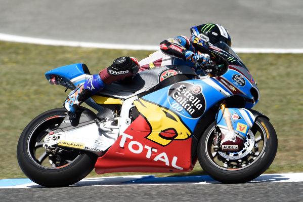 2017 MotoGP Championship - Round 4 Jerez, Spain Sunday 7 May 2017 Alex Marquez, Marc VDS, almost crashing World Copyright: Gold & Goose Photography/LAT Images ref: Digital Image 16187