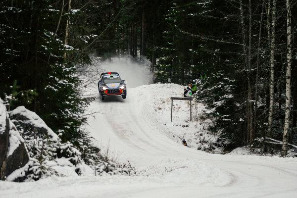 2017 FIA World Rally Championship, Round 02, Rally Sweden, February 09-12, 2017, Hayden Paddon, Hyundai, Action Worldwide Copyright: McKlein/LAT