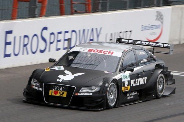Edoardo Mortara (ITA), Audi Sport Team Rosberg.DTM, Rd4, Eurospeedway Lausitz, Germany, 18-19 June 2011.
