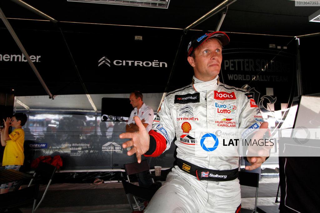 Round 09 - Rally Deutschland 18-21 August 2011.Petter Solberg, Citroen WRC, Portrait.Worldwide Copyright: McKlein/LAT