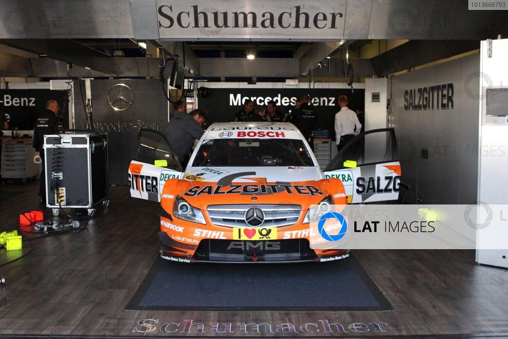 Ralf Schumacher (GER), Salzgitter AMG Mercedes C-Klasse (2009).DTM, Rd8, Oschersleben, Germany, 16-18 September 2011 Ref: Digital Image dne1117se595