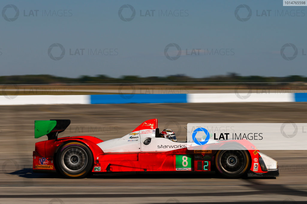 2017 IMSA WeatherTech SportsCar Championship Mobil 1 Twelve Hours of Sebring Sebring International Raceway, Sebring, FL USA Saturday 18 March 2017 8, ORECA, ORECA FLM09, PC, James Dayson World Copyright: Jake Galstad/LAT Images ref: Digital Image lat-galstad-SIR-0317-14463