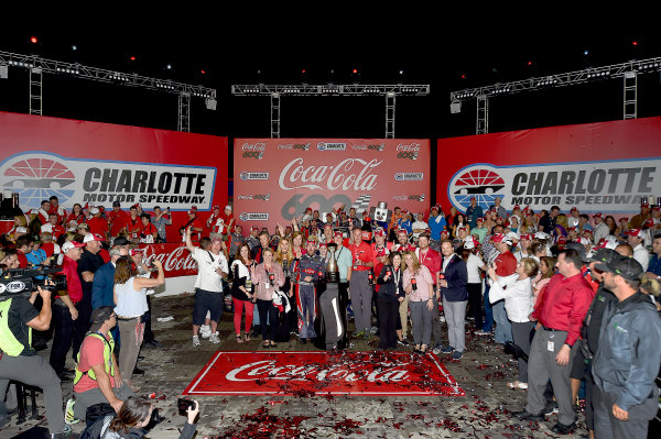 Monster Energy NASCAR Cup Series Coca-Cola 600 Charlotte Motor Speedway, Concord, NC USA Monday 29 May 2017 Austin Dillon, Richard Childress Racing, Dow Salutes Veterans Chevrolet SS World Copyright: Rusty Jarrett LAT Images ref: Digital Image 17CLT2rj_10497