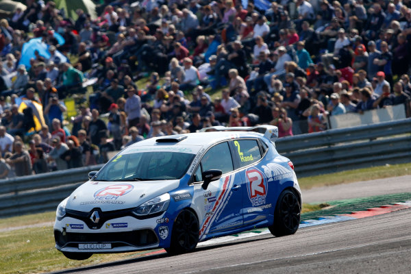 2017 Renault Clio Cup Thruxton, 6th-7th May 2017,  Ash Hand (GBR) Team Pyro Renault Clio Cup World copyright. JEP/LAT Images