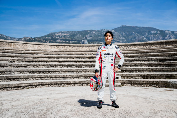 2017 FIA Formula 2 Round 3. Monte Carlo, Monaco. Wednesday 24 May 2017. Nobuharu Matsushita (JPN, ART Grand Prix)  Photo: Zak Mauger/FIA Formula 2. ref: Digital Image _54I4750
