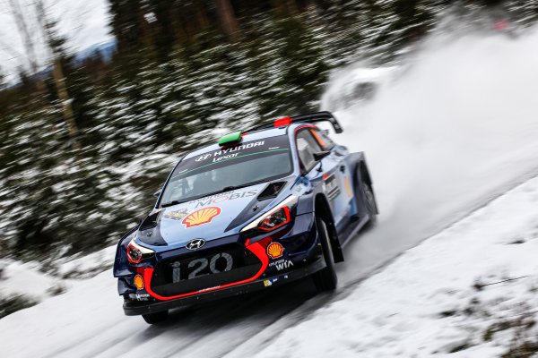 2017 FIA World Rally Championship, Round 02, Rally Sweden, February 09-12, 2017, Hayden Paddon, Hyundai, Action Worldwide Copyright: McKlein/LAT