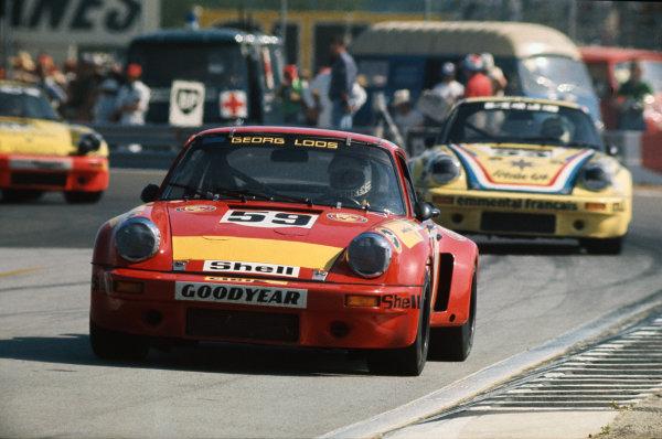 Le Mans, France. 14-15 June 1975 Tim Schenken/Howden Ganley (Porsche Carrera RSR), retired, action. World Copyright: LAT PhotographicRef: 75LM23.
