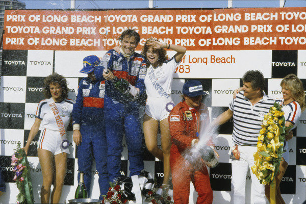 Long Beach, California, USA. 25th - 27th March 1983.