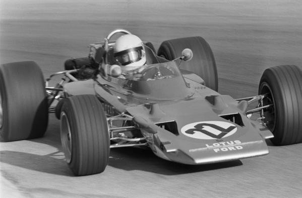 Jochen Rindt (AUT) Lotus 72 runs without wings. This was perhaps a contributory factor in his fatal accident which occured a short while after this picture was taken. Italian Grand Prix, Rd10, Monza, Italy, 6 September 1970.