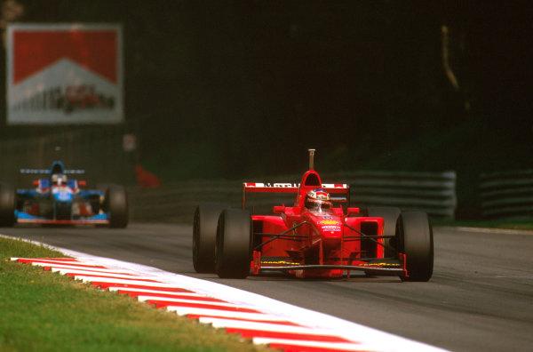Monza, Italy.5-7 September 1997.Michael Schumacher (Ferrari F310B) 6th position at Ascari.Ref-97 ITA 16.World Copyright - LAT Photographic