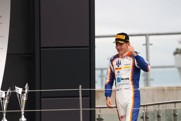 2015 GP2 Series Round 5.  Silverstone, Northamptonshire, England. Sunday 5 July 2015. Raffaele Marciello (ITA, Trident)  Photo:  Sam Bloxham/GP2 Media Service ref: Digital Image _G7C1990