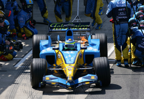 Giancarlo Fisichella Photos, Silverstone (2005)