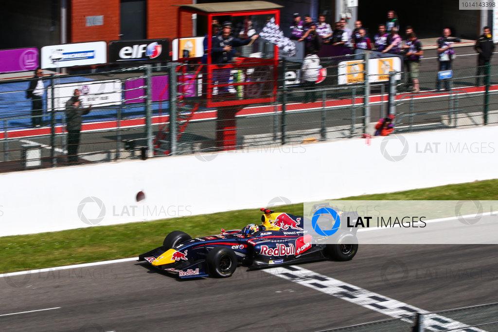 Spa-Francorchamps (BEL) May 30 - June 1 2014 - World Series by Renault at Circuit Spa-Francorchamps. Carlos Sainz jr. #1 Dams. Action. © 2014 Diederik van der Laan  / Dutch Photo Agency / LAT Photographic