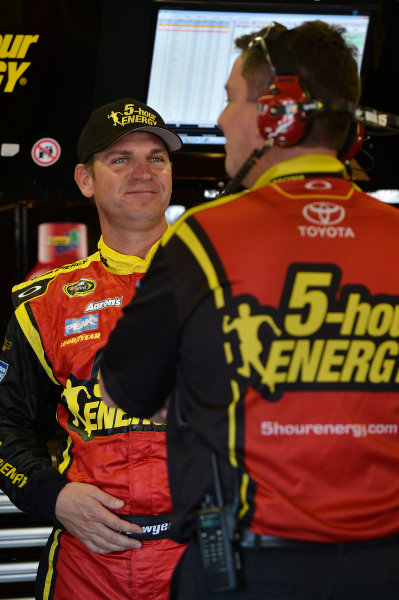 November 2-4, 2012 Fort Worth, Texas USA Clint Bowyer and Brian Pattie.(c) 2012, LAT South LAT Photo USA .