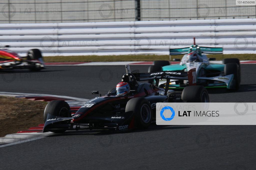 Fuji, Japan. 23rd - 24th November 2013. Rd 7. Fuji Sprint Cup. 3rd position Tsugio Matsuda ( #20 Lenovo TEAM IMPUL ), action. World Copyright: Yasushi Ishihara/LAT Photographic. Ref: 2013JAF_GP_SF_010