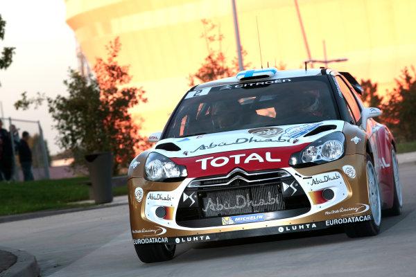 2013 FIA World Rally Championship Round 11-Rally de France 03-06/9 2013. Mikko Hirvonen, Citroen, Action  Worldwide Copyright: McKlein/LAT