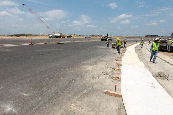 Circuit construction. Circuit of the Americas Construction, Austin, Texas, USA, Thursday 14 June 2012.