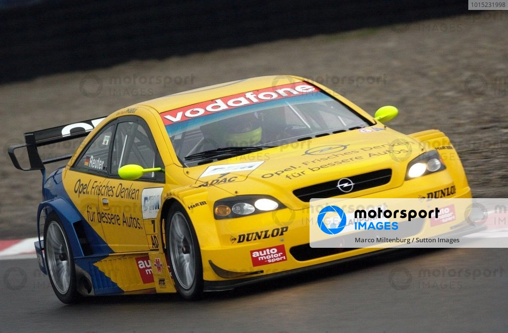 Manual Reuter (GER), Team Phoenix Astra Coupe, finished in fourth place.DTM Championship, Rd9, Zandvoort, Holland. 29 September 2002.DIGITAL IMAGE