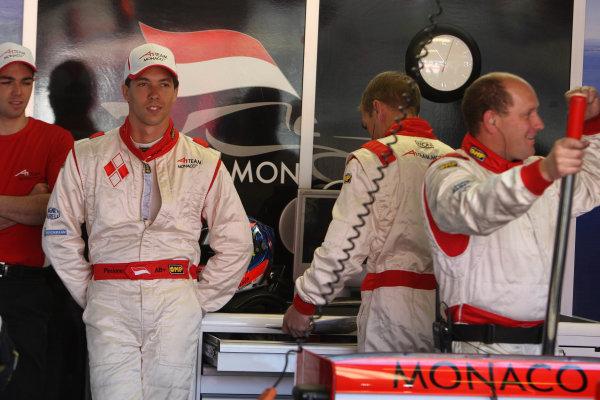 02.05 2009 Fawkham, England, Clivio Piccione (MON) Driver of A1 Team Monaco - A1GP World Cup of Motorsport 2008/09, Round 7, Brands Hatch, Saturday - Copyright A1GP - Free for editorial usage