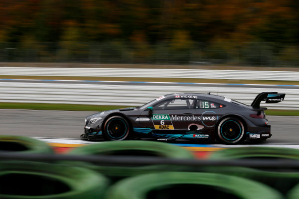 2017 DTM Round 9  Hockenheimring, Germany  Friday 13 October 2017. Robert Wickens, Mercedes-AMG Team HWA, Mercedes-AMG C63 DTM  World Copyright: Alexander Trienitz/LAT Images ref: Digital Image 2017-DTM-HH2-AT2-0390