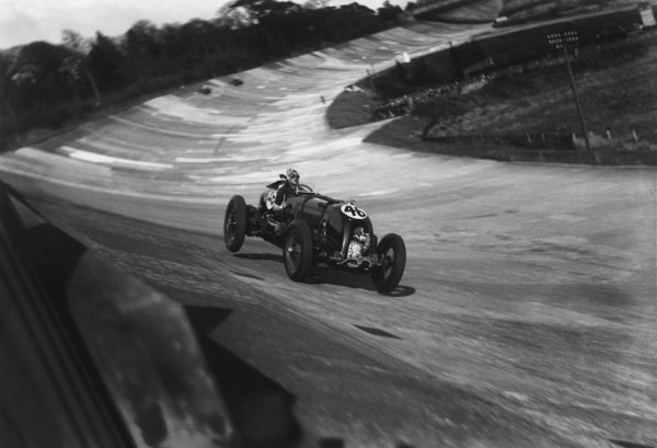 1932 British Empire Trophy Race.