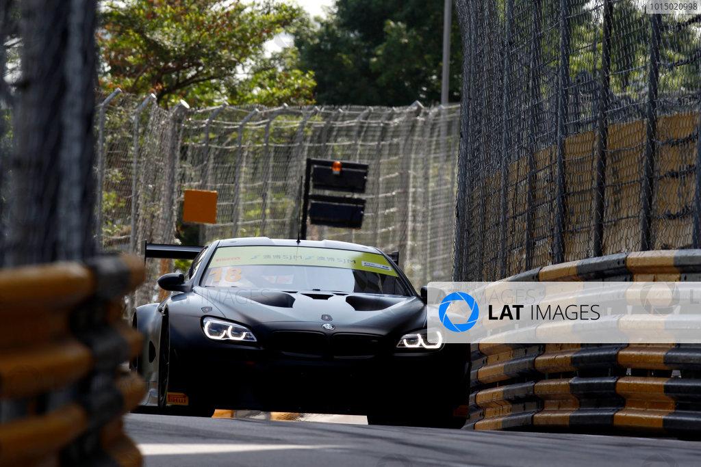 2015 FIA GT World Cup Circuit de Guia, Macau, China Thursday 16 November 2017. Augusto Farfus, BMW Team Schnitzer, BMW M6 GT3  World Copyright: Alexander Trienitz/LAT Images ref: Digital Image 2017-Macau-GP-AT1-0742