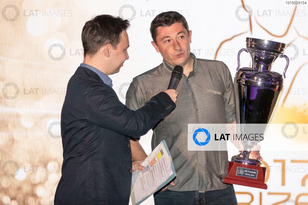 2017 Awards Evening. Yas Marina Circuit, Abu Dhabi, United Arab Emirates. Sunday 26 November 2017.  Photo: Zak Mauger/FIA Formula 2/GP3 Series. ref: Digital Image _56I3845