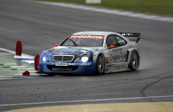 2002 DTM Championship.Hockenheim, Germany. 5-6 October 2002.Peter Dumbreck (Persson/Mercedes CLK DTM).World Copyright - Andre Irlmeier/LAT Photographic